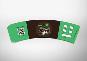 Mockup : Hispter Coffee Template