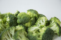 Close up of sliced broccoli