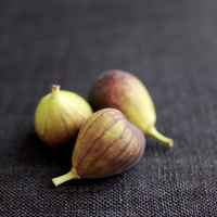 Popular : Close up of some figs on table