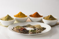 Close-up of spices in bowl