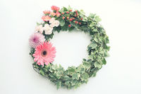 Floral wreath design