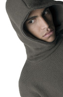 Popular : Man in hooded jacket