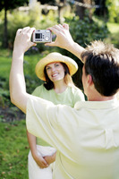 Popular : Man taking picture for his wife