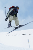 Skiing  winter sport
