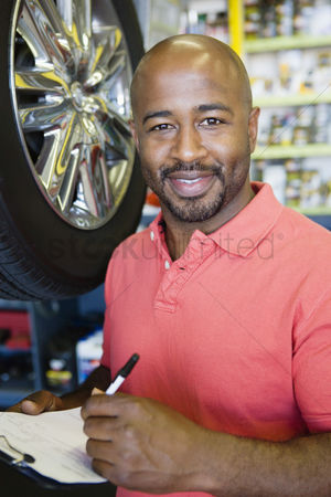 Posed : Auto mechanic