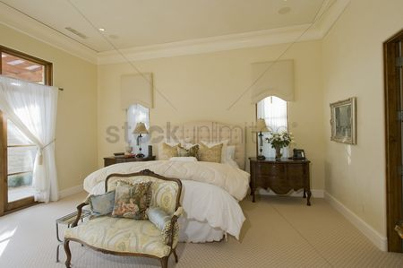 Furniture : Bedroom interior