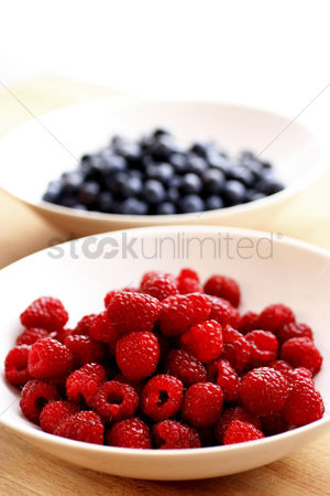 Appetite : Blueberries and raspberries