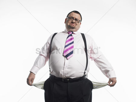 One man only : Broke businessman