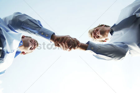 Businessmen : Business handshake