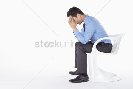 Masculinity : Businessman feeling stressed