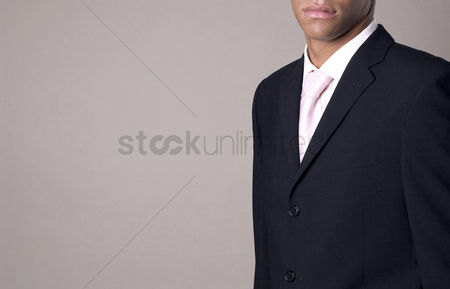 Respect : Businessman in business suit