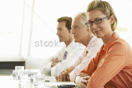 Senior women : Businesswoman in conference meeting portrait