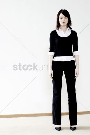 Alone : Businesswoman standing