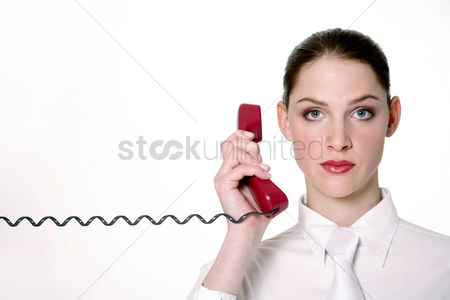 Mature : Businesswoman talking on the phone