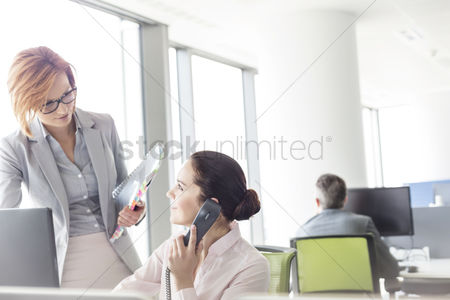 Businesswomen : Businesswomen working in office