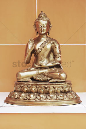 God : Close-up of a statue of buddha