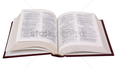 Religion : Close-up of the bible