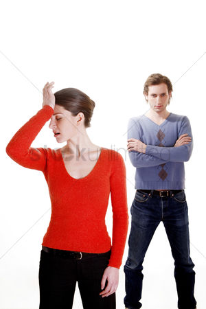 Girlfriend : Couple after an argument