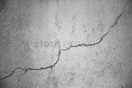 Weathered : Cracked wall