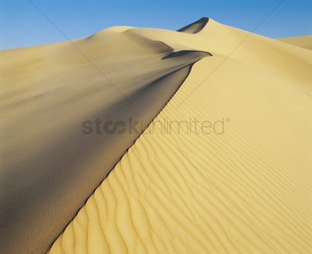 Remote : Crest of sand dune