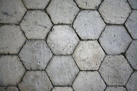Hexagon : Decorative pavement