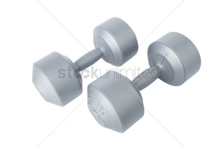 Muscle training : Dumbbells