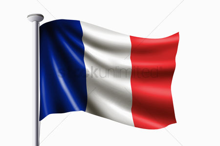 Match : France flag waving
