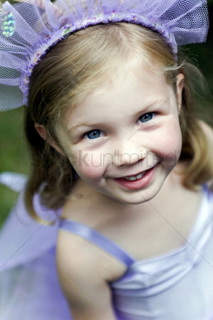 Dance : Girl in ballet costume smiling at the camera