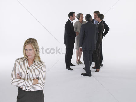Women : Group of businesspeople