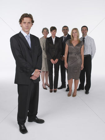 Supervisor : Group of businesspeople