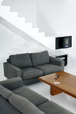 Stairs : Interior of a living room
