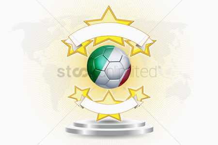 Nationality : Italy soccer ball emblem