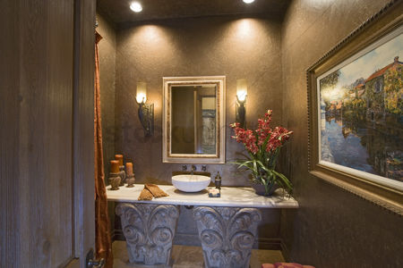 Arts : Luxury interior design bathroom
