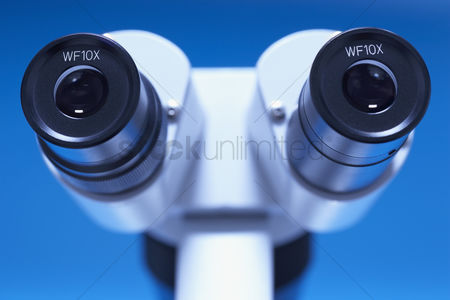 Vision : Microscope close-up