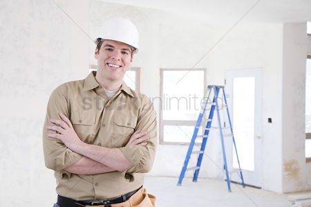 Interior : Portrait of a builder