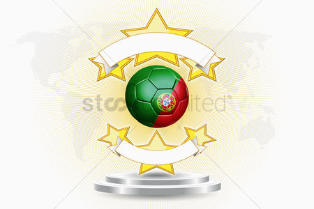 Nationality : Portugal soccer ball emblem