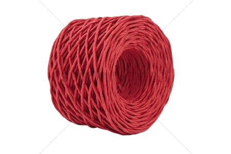 Rope : Red string coil