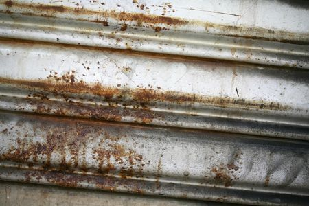 Weathered : Rusty metal