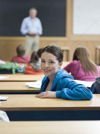Pupil : Student in lecture room portrait