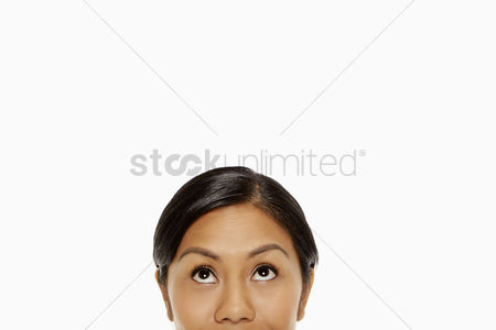 Bidayuh ethnicity : Upper portion of a woman s face