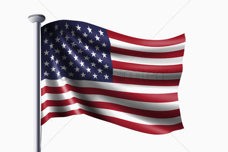 Match : Usa flag waving