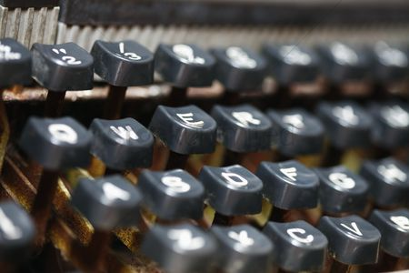 No people : Vintage typewriter