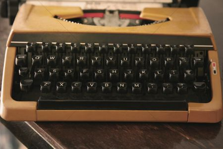 Retro : Vintage typewriter