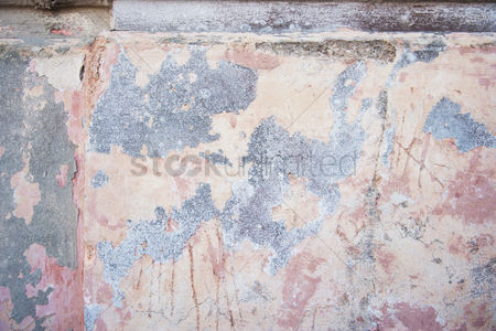 Weathered : Weathered wall  ponza  province of latina  lazio  italy