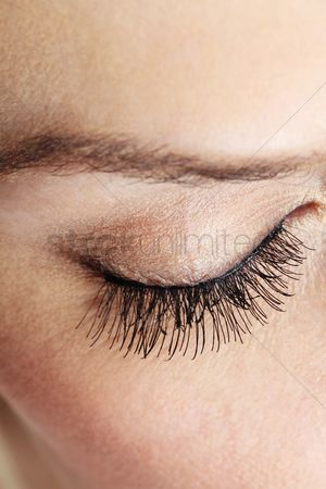 British ethnicity : Woman s eye