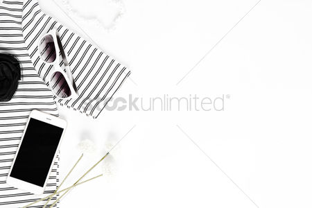 Lady : Women s clothing on white background